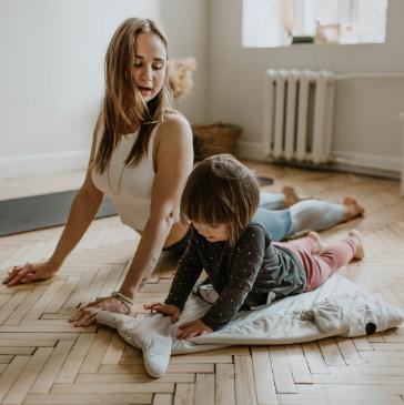 A csecsemőkori korai mozgásfejlesztés